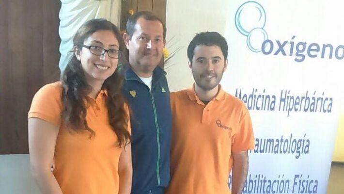 Integrantes de Oxígeno visitaron el Colegio San Pedro de Nolasco en su celebración del día saludable