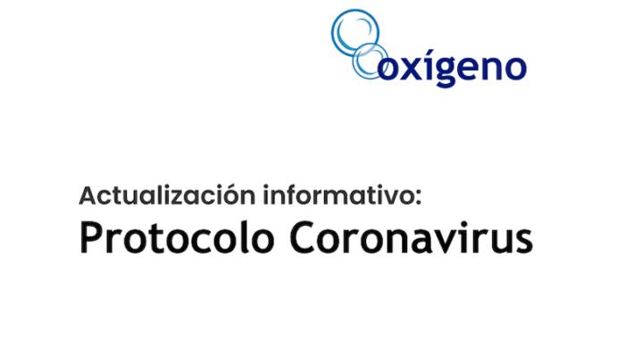 [ACTUALIZACIÓN] Informativo Protocolo Coronavirus
