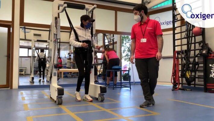 Andago, robot terapéutico presente en Oxígeno.