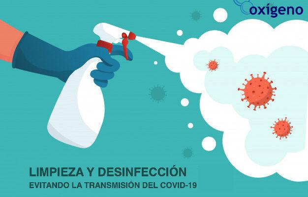 Limpieza y desinfección: evitando la transmisión del COVID-19 en funcionarios y pacientes.